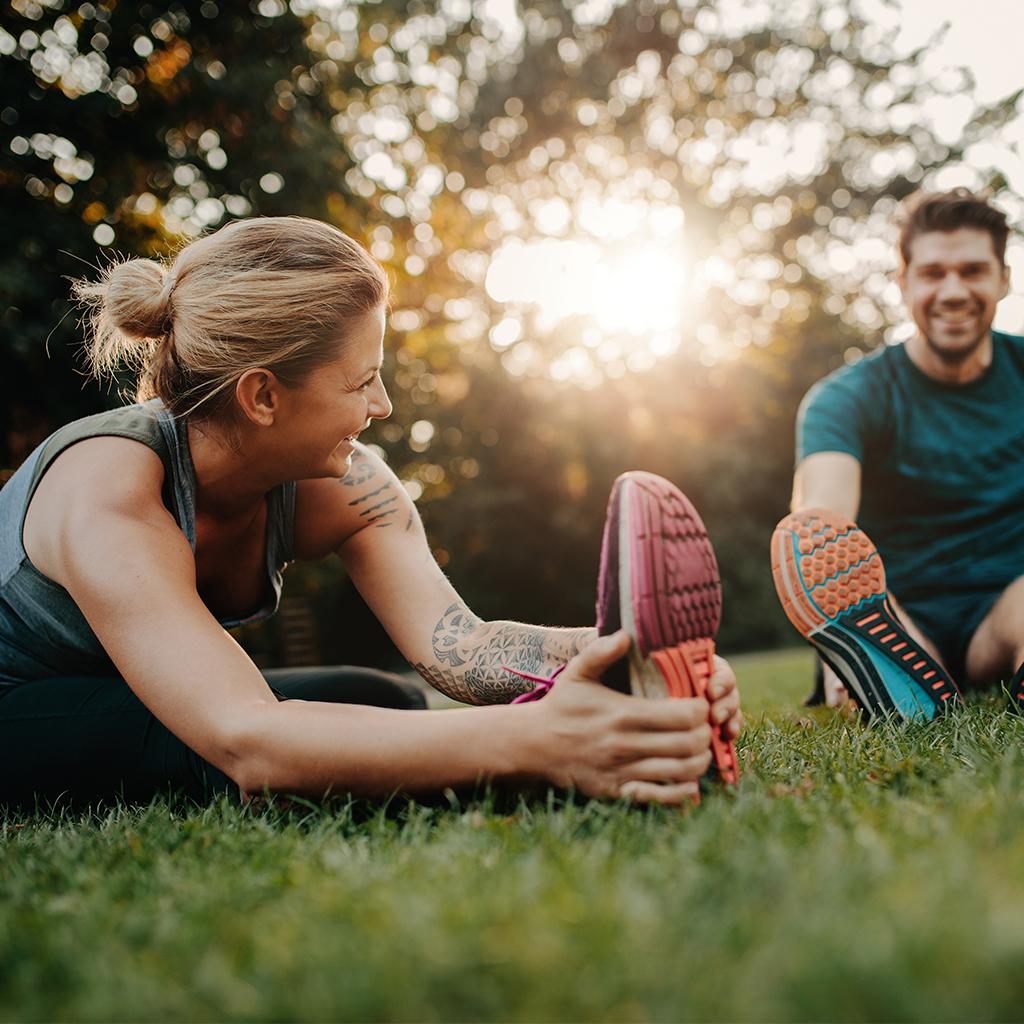 Personlig träning utomhus